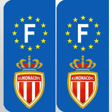 plaque immatriculation stickers plaques football foot france
