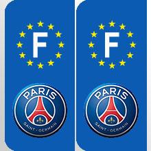 stickers plaque france logo equipe foot football france ligue 1 france adhesif pour plaque france. Black Bedroom Furniture Sets. Home Design Ideas