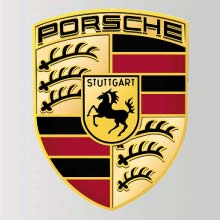 blason en resine porsche autocollant porsche adhesif pour carosserie porsche. Black Bedroom Furniture Sets. Home Design Ideas