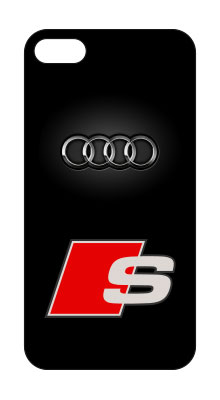 coque iphone audi logo marque automobile audi. Black Bedroom Furniture Sets. Home Design Ideas