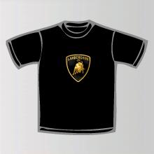 tee shirt lamborghini logo marque automobile lamborghini. Black Bedroom Furniture Sets. Home Design Ideas